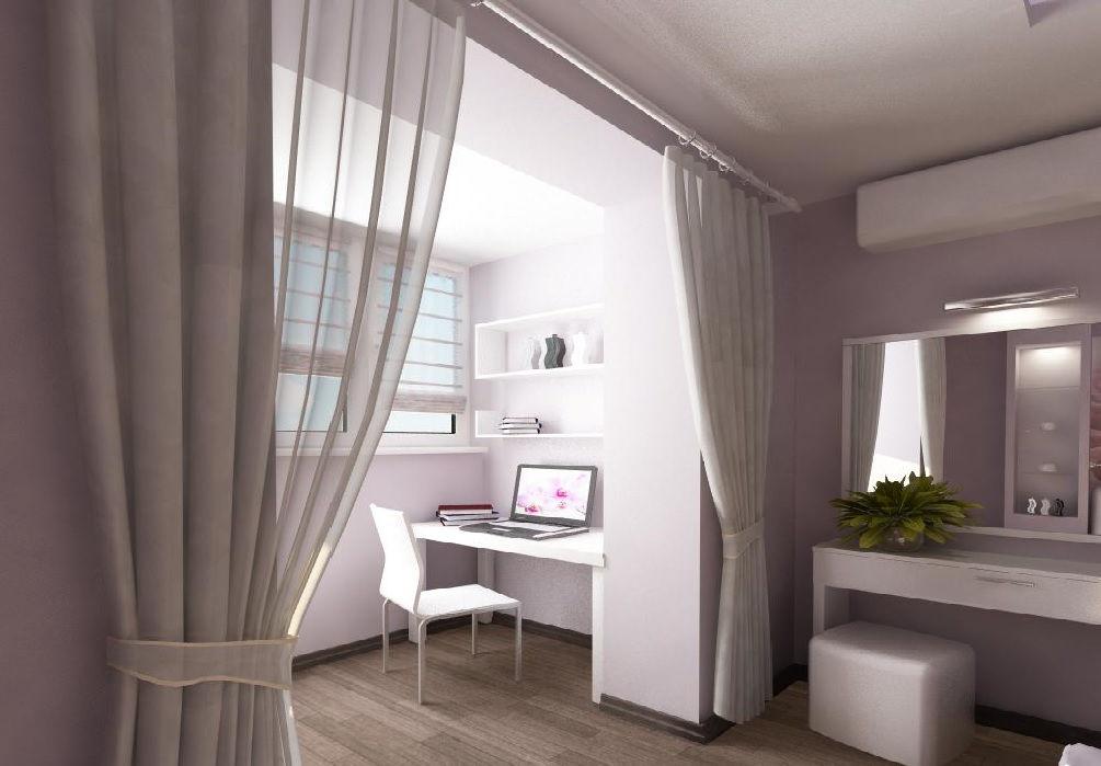 Объединить балкон или лоджию с комнатой во владивостоке - те.