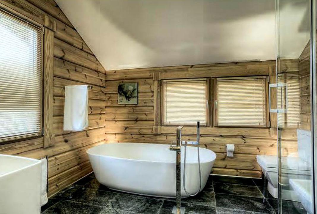 Как отделать ванную комнату в деревянном доме своими руками 89