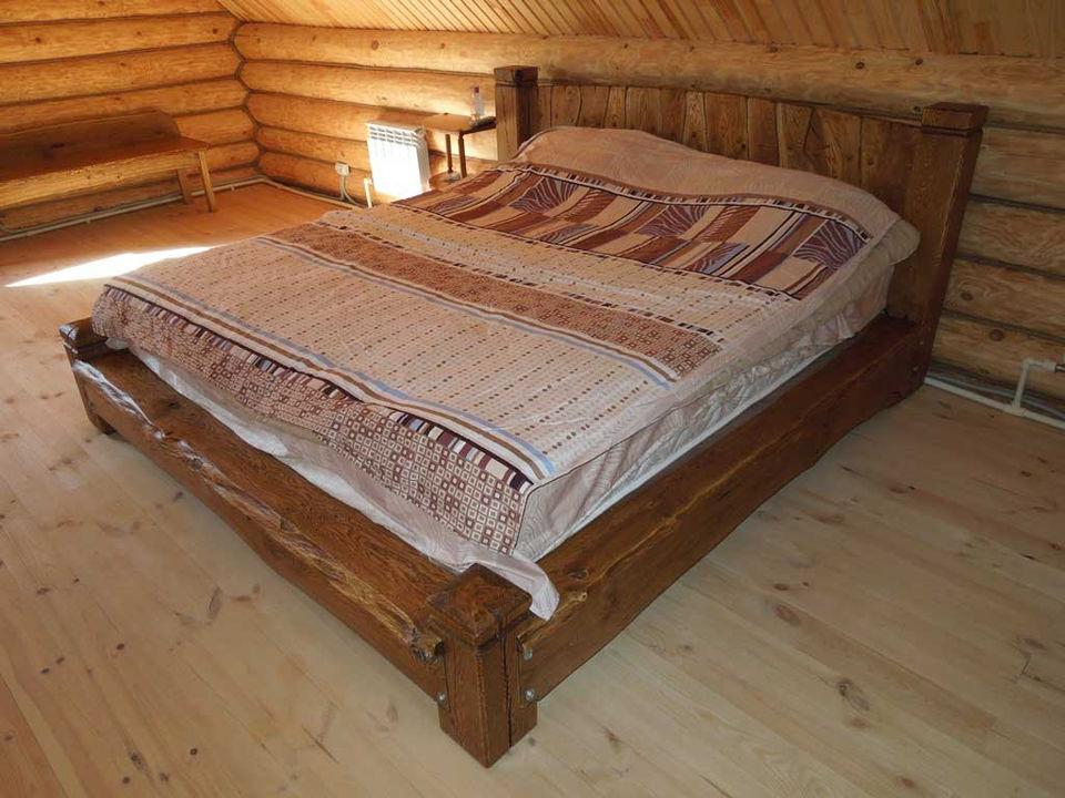 Деревянные кровати своими руками под старину 5