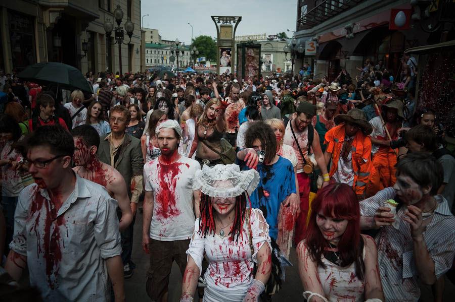 Зомбі-парад пройде в Києві 30 жовтня