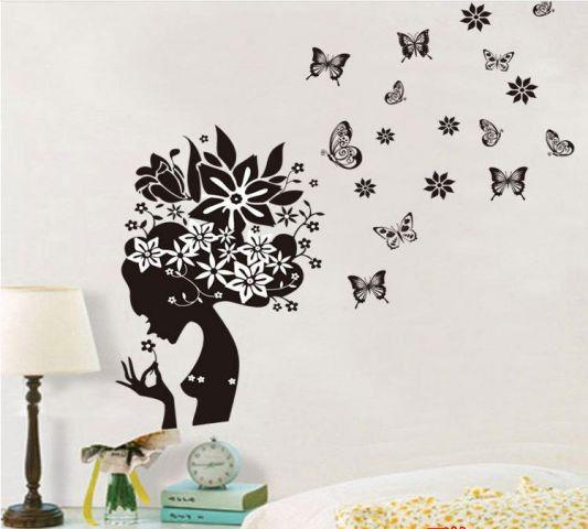 Трафарет абстракция на стену своими руками - Jiminy.ru